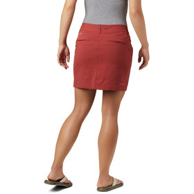 Columbia Saturday Trail Jupe-short Femme, dusty crimson